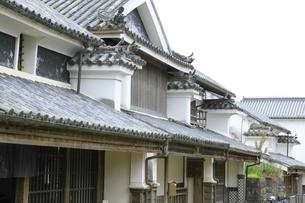 うだつの家並の写真素材 [FYI04843616]