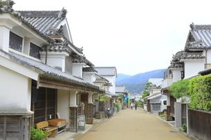 うだつの家並の写真素材 [FYI04843619]
