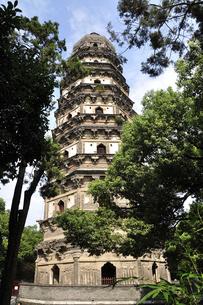 蘇州・雲岩寺塔の写真素材 [FYI04843992]