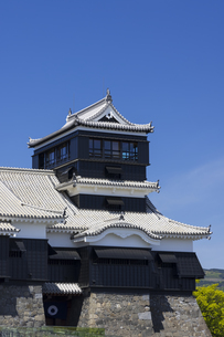 熊本城の小天守 熊本県の写真素材 [FYI04844252]