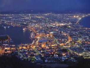 函館の夜景の写真素材 [FYI04844610]