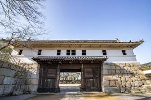 丸亀城(大手一の門)の写真素材 [FYI04845109]