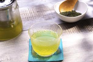 煎茶の新茶の写真素材 [FYI04845374]