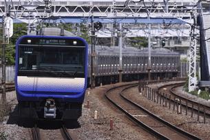 総武快速線・横須賀線用 E235系1000番台の写真素材 [FYI04845411]