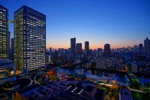 東京夜景の写真素材 [FYI04845543]