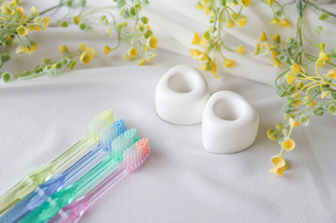 歯ブラシ 歯磨きイメージの写真素材 [FYI04845715]
