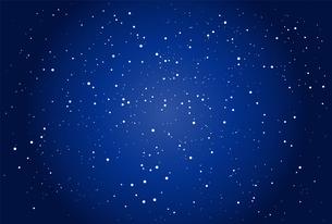 満天の星空のイラストのイラスト素材 [FYI04846185]