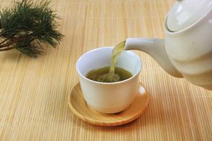 緑茶の写真素材 [FYI04846428]