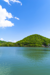 有馬富士と千丈寺湖の写真素材 [FYI04846645]