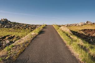 【自然風景】青空の下の四国カルストの写真素材 [FYI04847321]