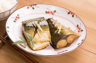 鯖の煮付けの写真素材 [FYI04847986]