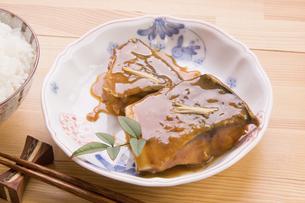 さばの味噌煮の写真素材 [FYI04847989]