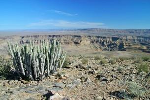 アフリカ最大の渓谷フィッシュリバーキャニオンの写真素材 [FYI04848213]