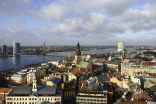 <バルト三国>ラトビアの首都リガ旧市街の写真素材 [FYI04848233]