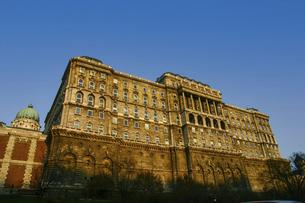 ハンガリーの世界遺産ブダペストのブダ城の写真素材 [FYI04848235]