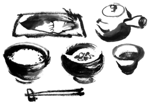 朝食のイラスト素材 [FYI04848358]