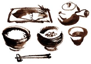 朝食のイラスト素材 [FYI04848359]