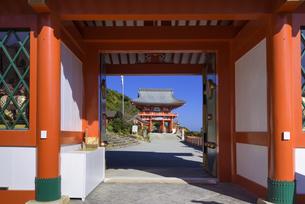 鵜戸神宮 楼門の写真素材 [FYI04848366]