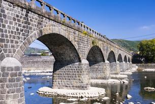 秋の耶馬渓橋の写真素材 [FYI04848389]