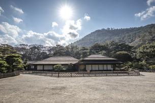 栗林公園・掬月亭の写真素材 [FYI04848583]