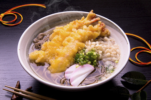 えび天蕎麦の写真素材 [FYI04848824]