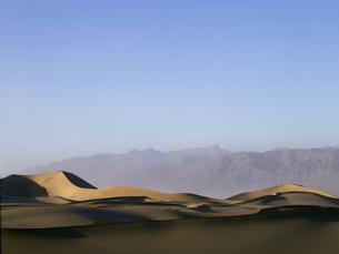 デスバレーの砂丘の写真素材 [FYI04848985]