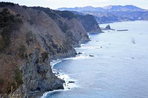 2月 鵜の巣断崖の写真素材 [FYI04849174]