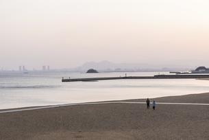 百道浜の朝の風景の写真素材 [FYI04849380]