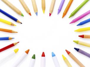 いろいろな色鉛筆の写真素材 [FYI04849456]