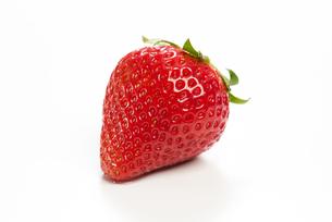 真っ赤に熟した苺の写真素材 [FYI04851068]