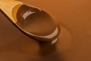 溶けたチョコレートの写真素材 [FYI04851163]