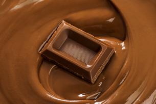 溶けたチョコレートの写真素材 [FYI04851168]