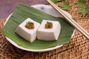 胡麻豆腐の写真素材 [FYI04851886]