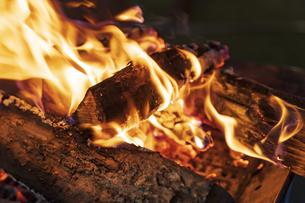 たき火の写真素材 [FYI04852027]