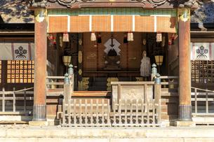 長野県  諏訪大社下社秋宮の写真素材 [FYI04852495]