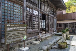 修善寺温泉 伊豆最古の木造建築物といわれる指月殿の写真素材 [FYI04852960]