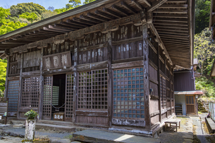 修善寺温泉 伊豆最古の木造建築物といわれる指月殿の写真素材 [FYI04852964]