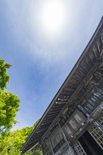 修善寺温泉 伊豆最古の木造建築物といわれる指月殿の写真素材 [FYI04852973]