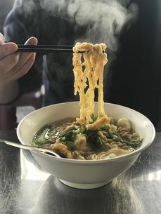 鍋焼意麺の写真素材 [FYI04853205]