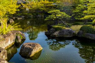 姫路城 好古園の写真素材 [FYI04853298]