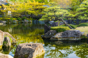 姫路城 好古園の写真素材 [FYI04853299]