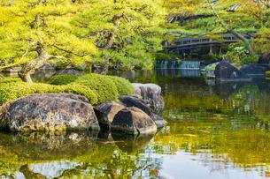 姫路城 好古園の写真素材 [FYI04853300]
