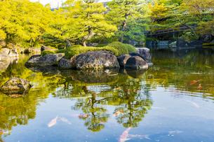 姫路城 好古園の写真素材 [FYI04853301]