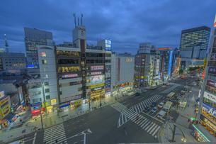 上野の街並みの写真素材 [FYI04853368]