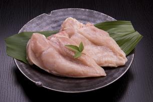 国産鶏むね肉の写真素材 [FYI04853500]