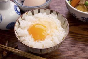 卵かけご飯の写真素材 [FYI04853516]