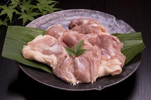 国産鶏もも肉の写真素材 [FYI04853522]