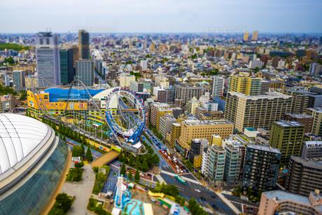東京ドーム周辺ミニチュアの写真素材 [FYI04853545]