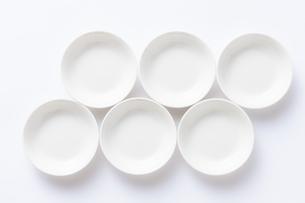 白い小皿の写真素材 [FYI04853862]