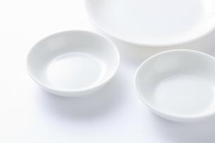 白い小皿の写真素材 [FYI04853863]